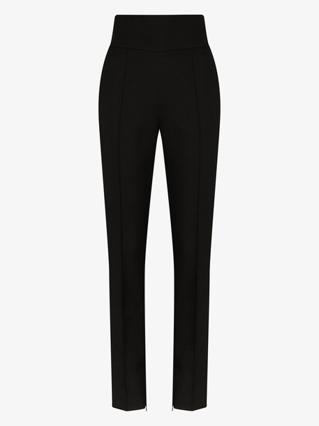 Alexandre Vauthier high-waisted tailored trousers in black
