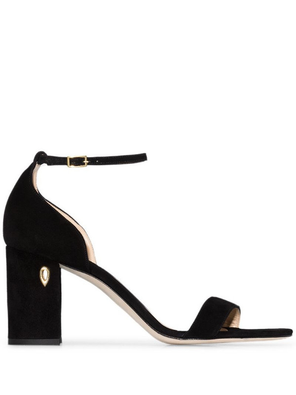 Jennifer Chamandi Massimo 85mm sandals in black