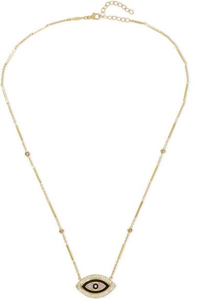 Jacquie Aiche - 14-karat Gold Multi-stone Necklace