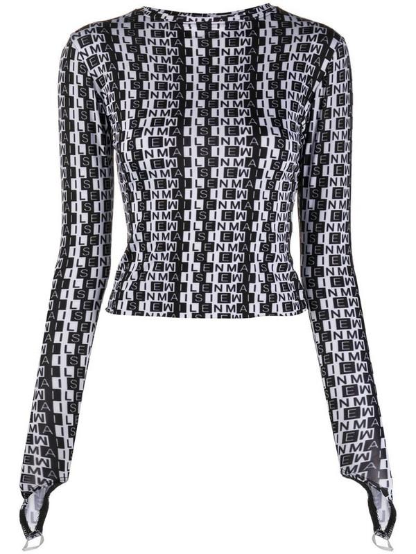 Maisie Wilen Body Shop top in black