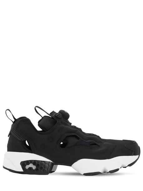 REEBOK CLASSICS Instapump Fury Nylon Sneakers in black