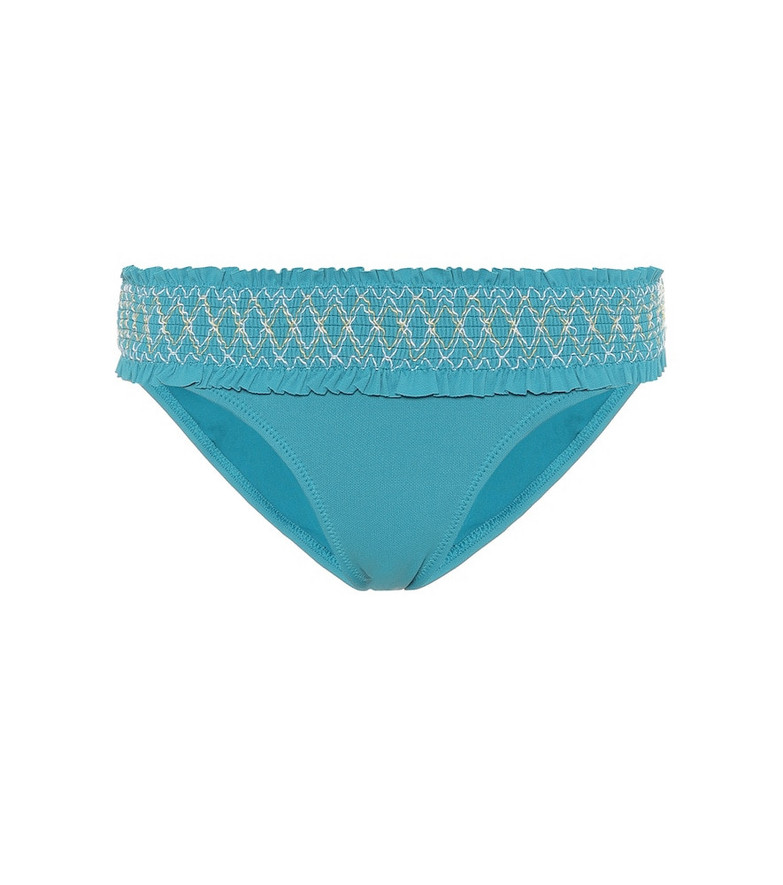 Heidi Klein Aruba hipster bikini bottoms in blue