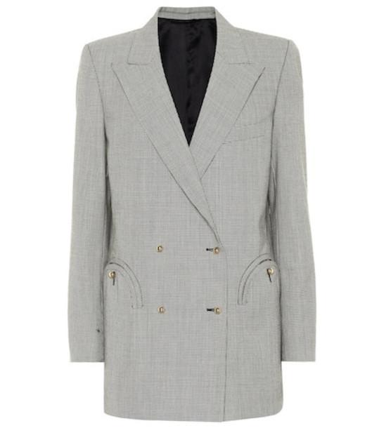 Blazé Milano Kentra Everyday wool blazer in grey