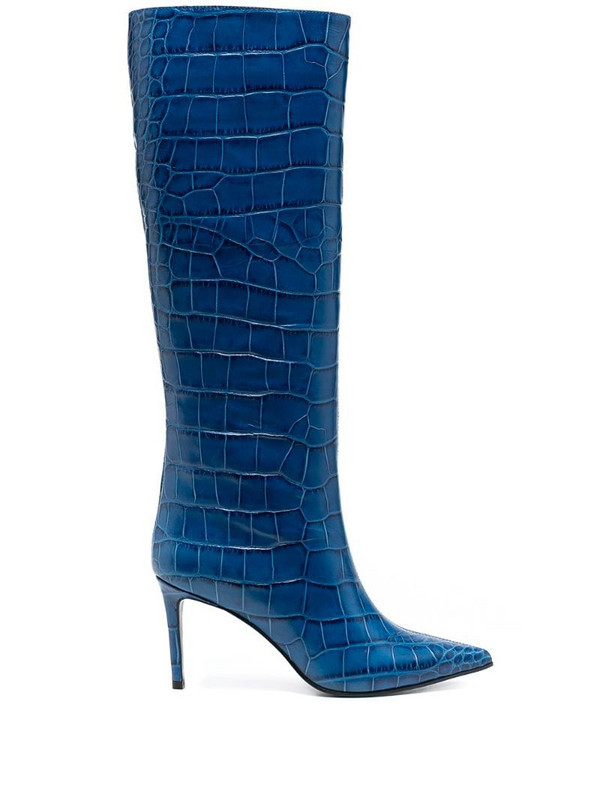 Giuliano Galiano Lara pointed boots in blue