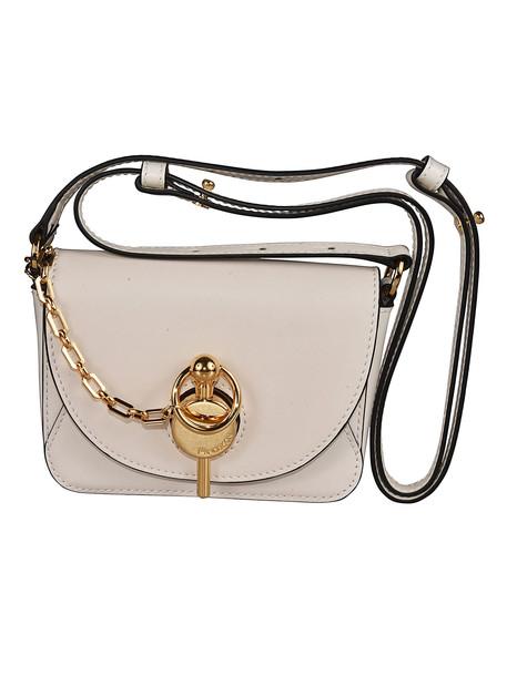 J.W. Anderson Chain Detail Shoulder Bag in bianco