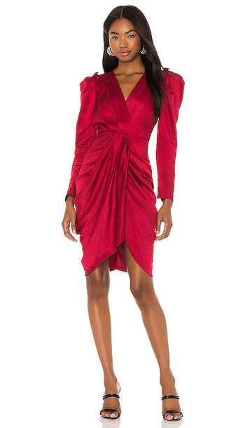 ASTR the Label Alma Dress in Red