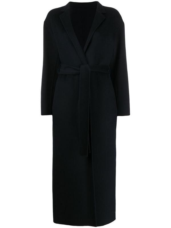 Filippa K Alexa double-face belted coat in blue