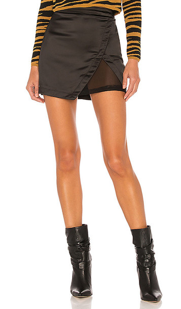superdown Jaymes Mini Skirt in Black