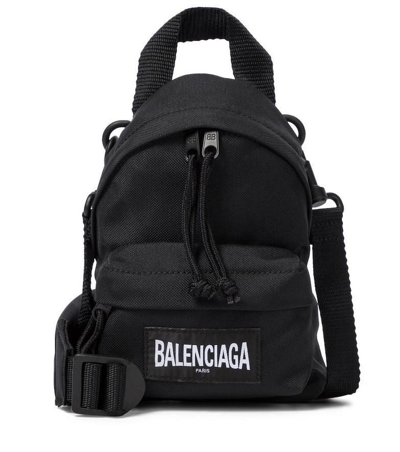 Balenciaga One-shoulder backpack in black