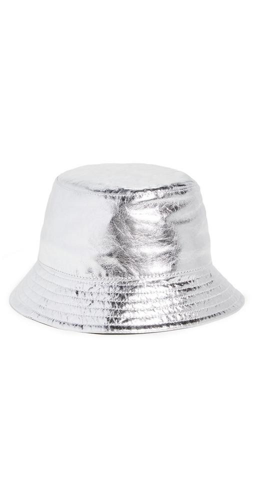 Isabel Marant Haley Bucket Hat in silver