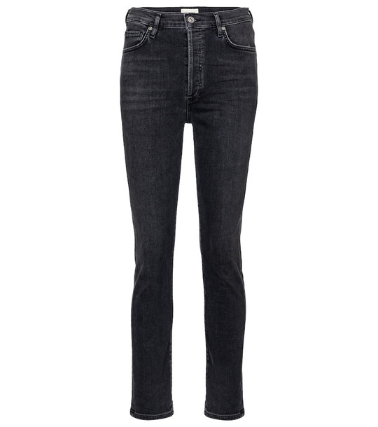 Citizens of Humanity Olivia high-rise slim jeans in black
