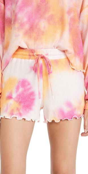 BB Dakota Chi Chi Shorts in fuchsia