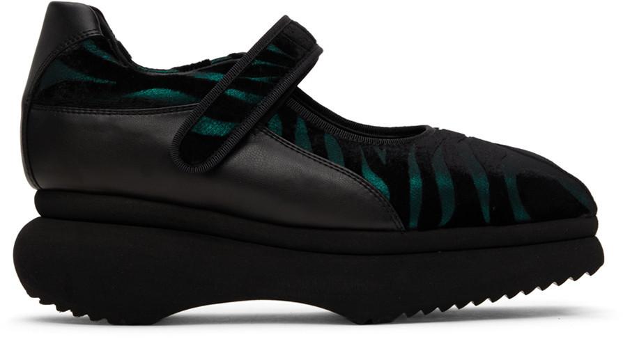Paula Canovas Del Vas Diablo Low-Top Sneakers in green