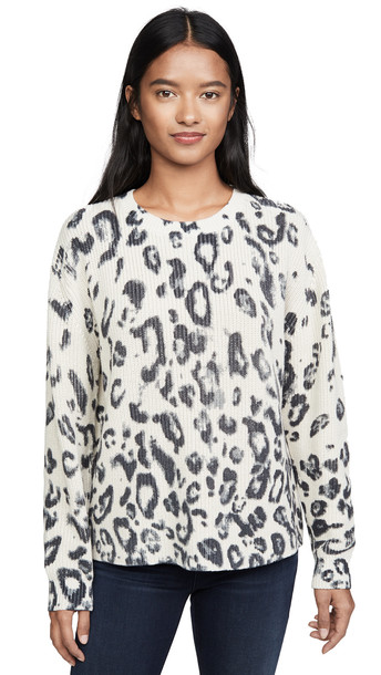 525 America Shaker Sweater in multi