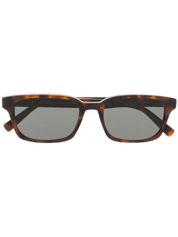 Retrosuperfuture Regola sunglasses in brown
