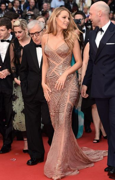 dress gown prom dress blake lively red carpet dress sparkly dress long prom dress shoes sandals cannes