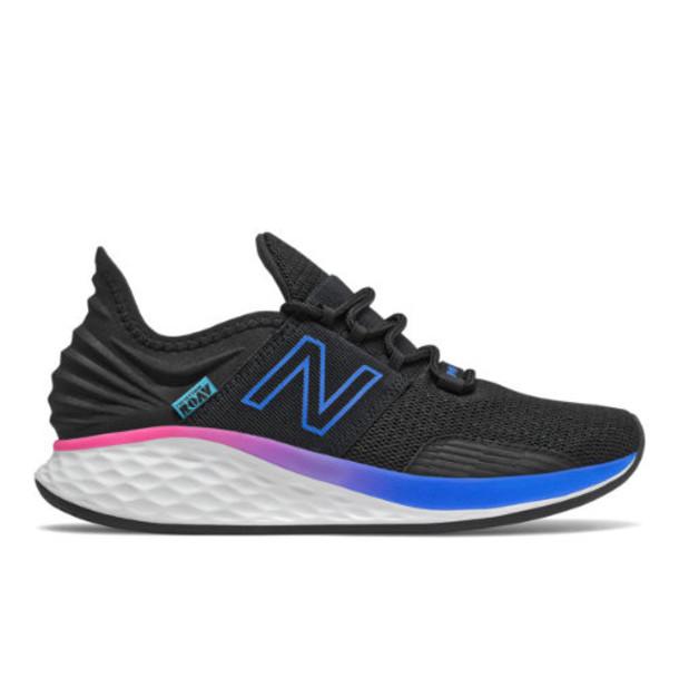 New Balance Fresh Foam Roav Boundaries Women's Neutral Cushioned Shoes - Black/Blue (WROAVBB)