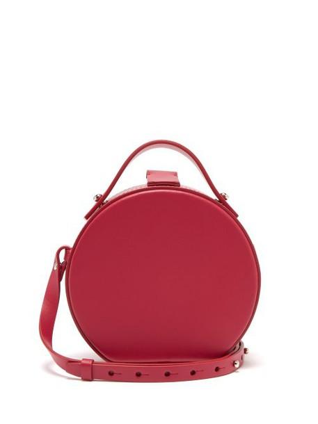 Nico Giani - Tunilla Mini Matte Leather Circle Bag - Womens - Pink