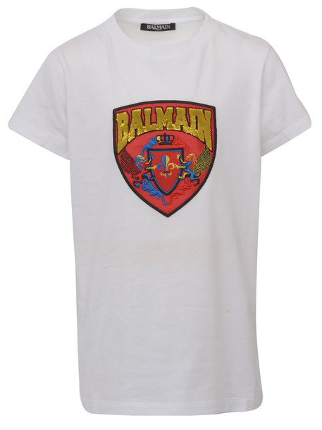 T-shirt Balmain Paris Kids in white