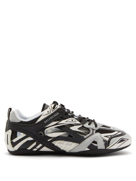 Balenciaga - Drive Panelled Trainers - Womens - Black Grey