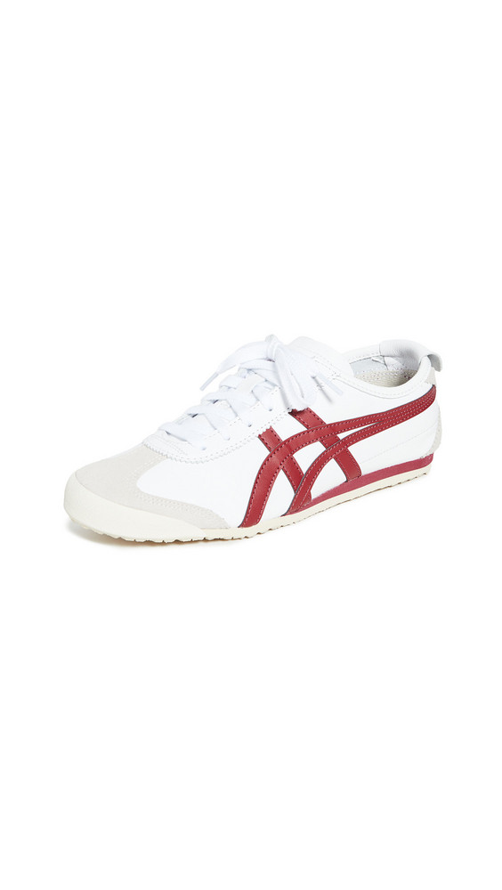 Onitsuka Tiger Mexico 66 Sneakers in burgundy / white