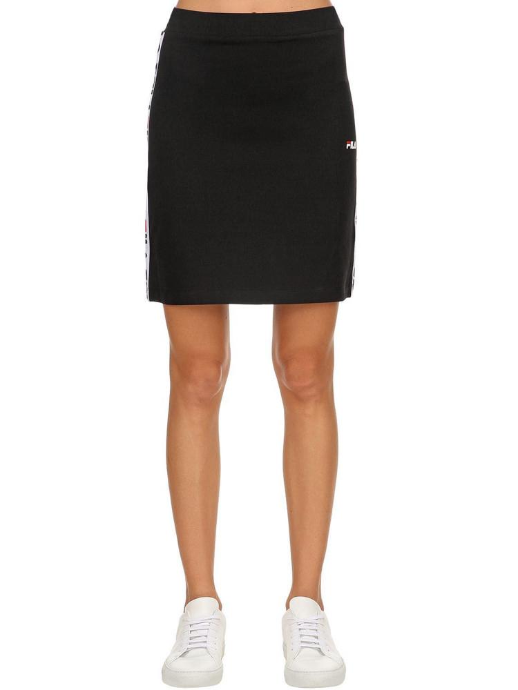 FILA URBAN Maha Logo Side Band Skirt in black