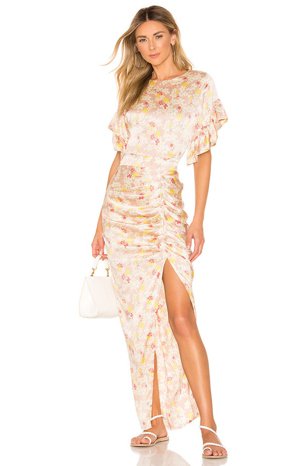 Acacia Swimwear Luau Dress in blush