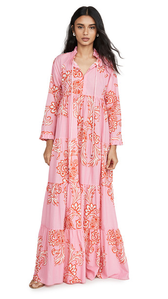 Eywasouls Malibu Cora Dress in pink / red
