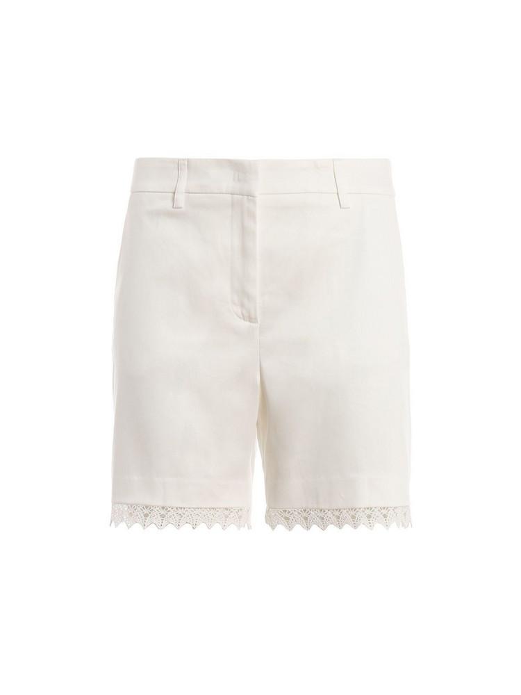 Blumarine Lace Shorts in bianco