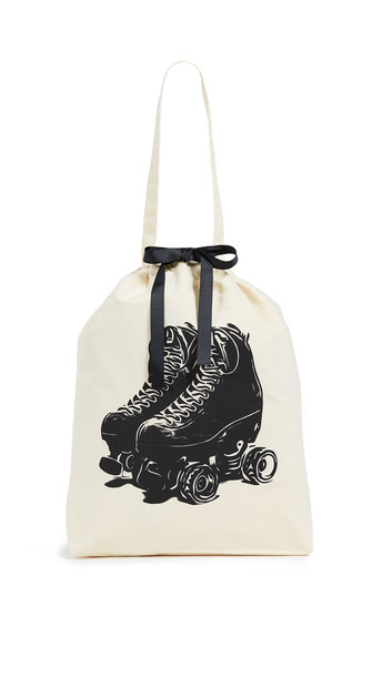 Bag-all Roller Skates Bag in black / cream