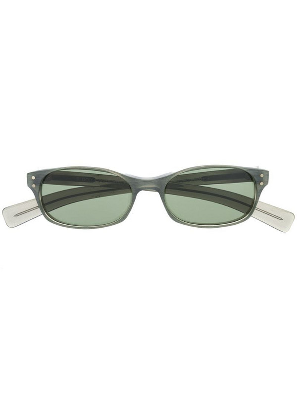 Dolce & Gabbana Pre-Owned 2000s rectangular-frame sunglasses in grey