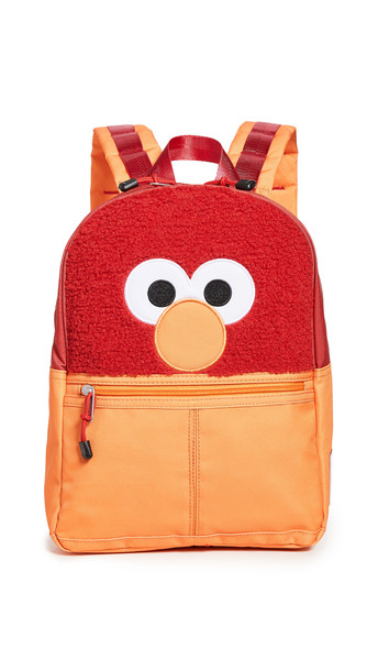 STATE Isaac Mizrahi Loves Sesame Street x STATE Elmo Bag in red