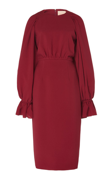ROKSANDA Vaniria Blouson Dress in pink