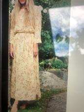 dress,yellow,yellow dress,flowers,summer dress,stockholm sweden,Elle Sweden,stockholm fashion week,midi dress,maxi dress