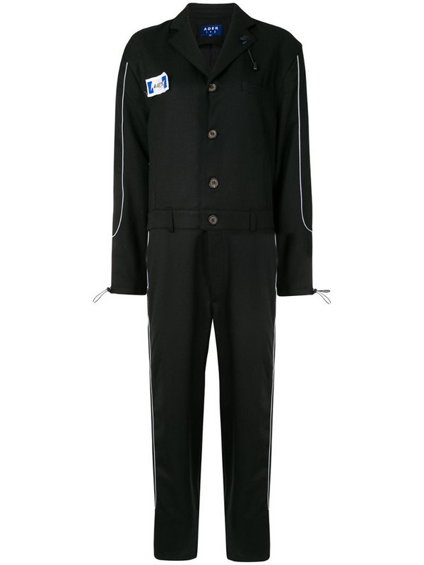 Ader Error oversized long sleeve jumpsuit in black