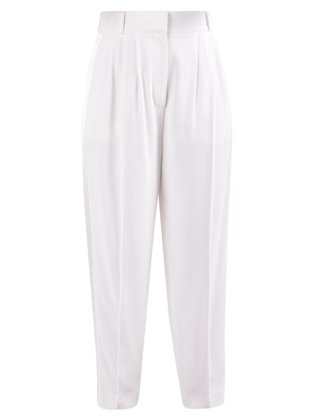 Alexander McQueen Carrot Trousers in white