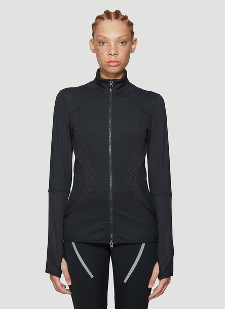 adidas by Stella McCartney Essential Mid-Layer Top in Black size S