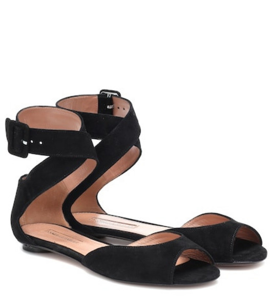 Samuele Failli Jerry suede sandals in black