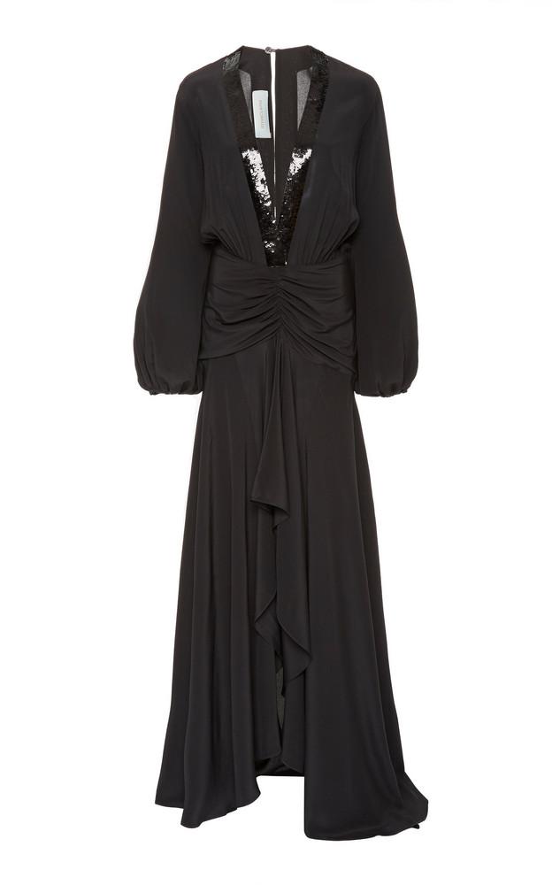 Silvia Tcherassi M'O Exclusive Danitza Dress Size: XS in black