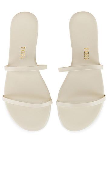 TKEES Gemma Sandal in Cream