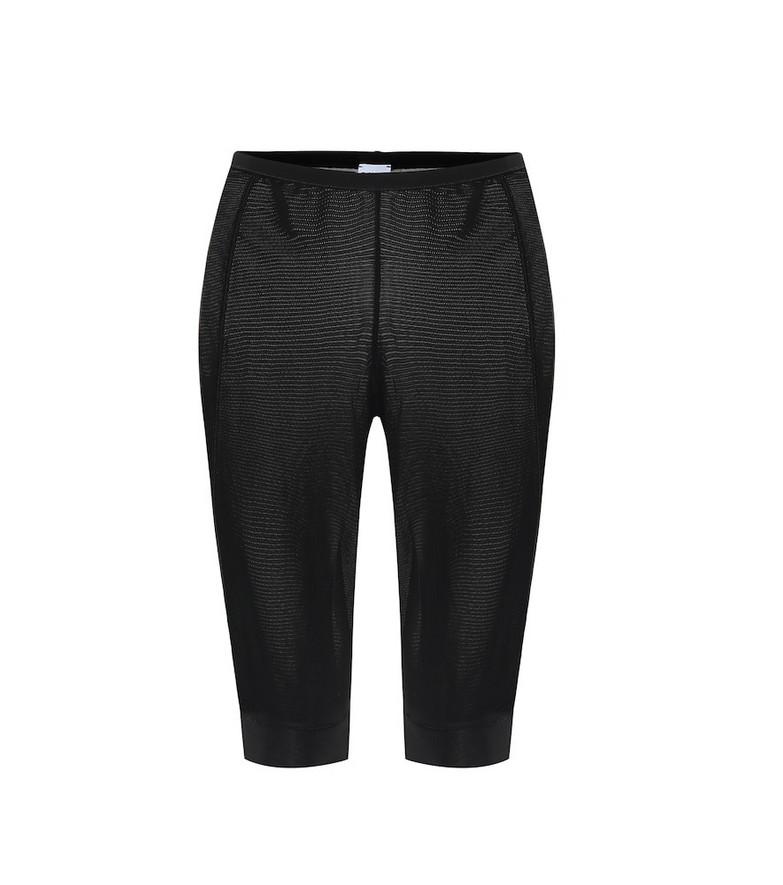Ganni Biker shorts in black