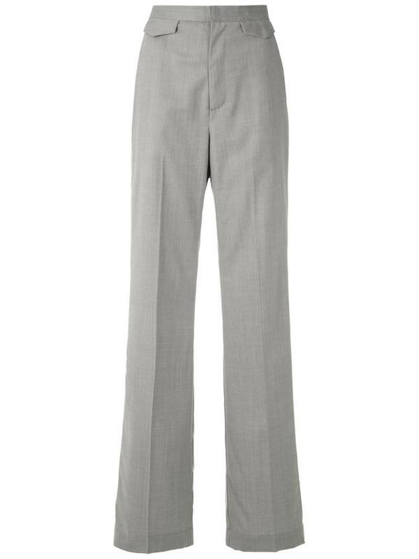 Reinaldo Lourenço tailored high waisted trousers in grey