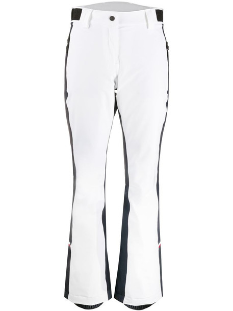 Tommy Hilfiger x Rossignol side stripe trousers in white