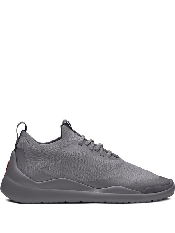Prada Linea Rossa knitted sneakers in grey