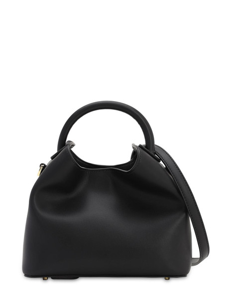 ELLEME Baozi Smooth Leather Top Handle Bag in black