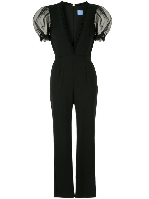 Macgraw slim-fit Suzette jumpsuit in black