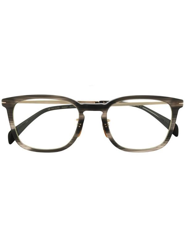 Eyewear by David Beckham tortoiseshell square frame sunglasses in grey
