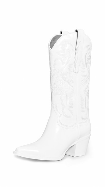 Jeffrey Campbell Dagget Boots in white