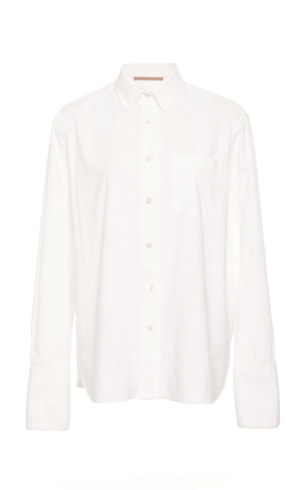 Summa Taditional Button Down Shirt in white