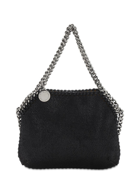 STELLA MCCARTNEY Falabella Faux Leather Top Handle Bag in black